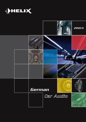 Leistungsmerkmale - Audiotec Fischer Gmbh