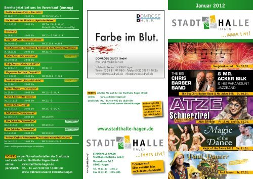Schmerzfrei - Stadthalle Hagen