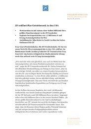 Pressetext herunterladen (PDF, 344 KB) - ZF Friedrichshafen AG