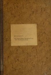 Die spanischen Handschriften der Stadtbibliothek