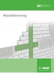 Styrodur C - XPS - Wanddaemmung - Brochure German - BASF