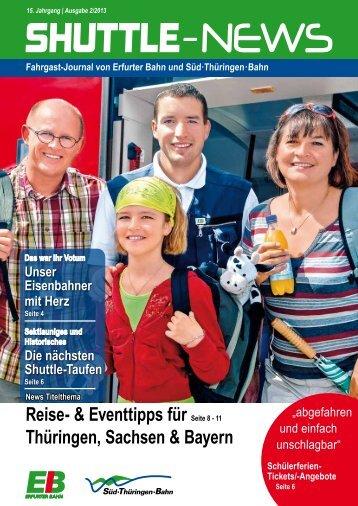 Shuttle News 2 - Erfurter Bahn