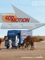 hoerbiger@motion 2011-02