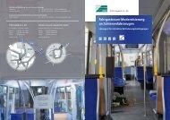 Fahrgastraum-Modernisierung an Schienenfahrzeugen - IFTEC