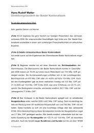 Sehr geehrte Aktionrinnen und Aktionre - BKB