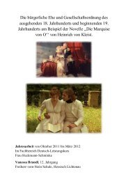 Die bürgerliche Ehe und Gesellschaftsordnung des ausgehenden ...
