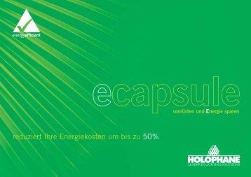 reduziert Ihre Energiekosten um bis zu 50% - Holophane Europe Ltd