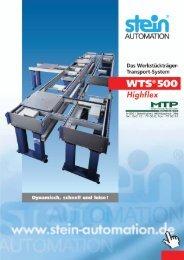 stein wts 500 - MTP Montagetechnik GmbH
