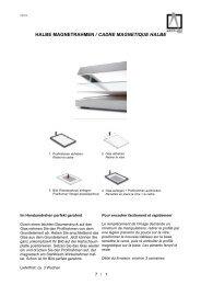 07_HALBE-Magnetrahmen / cadres magnétiques - ARTPROFIL