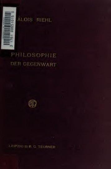 Zur Einführung in die Philosophie der Gegenwart; acht Vorträge