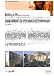 Business Park Bern AG (PDF) - Energie Wasser Bern