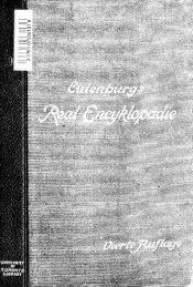 Real-Encyclopädie der gesamten Heilkunde; medizinisch ...