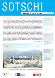 Sotschi-Newsletter - Germany Trade & Invest