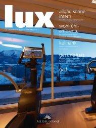 Hotelmagazin Lux - Hotel Allgäu Sonne