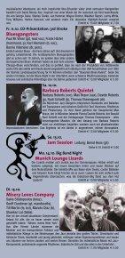 geri allen - Jazzclub Unterfahrt - Page 5