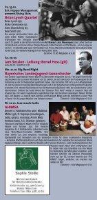 geri allen - Jazzclub Unterfahrt - Page 7