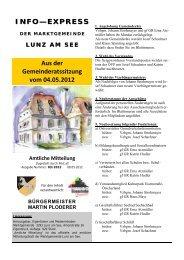 GZ 2012-03 Info Express.pub - Lunz am See