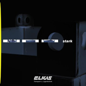 Imagebroschüre Elkas - Elkas GmbH & Co. KG