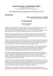 Elektronischer Rundbrief No. 7 (Juli 2006)