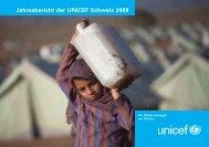 Jahresbericht der UNICEF Schweiz 2009