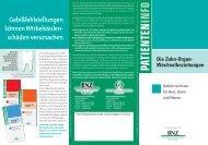 Prospekt 7 Zahn-Organ_Deutsch - BNZ