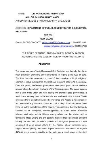 Cheap write my essay civilsociety promote good governance