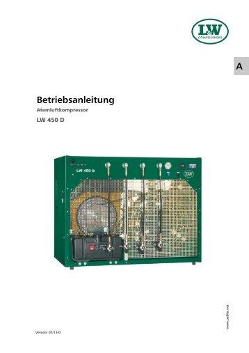 01_Betriebsanleitung - LW 450D - D - HU.pub - Lenhardt & Wagner