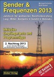 2. Nachtrag Sender & Frequenzen 2013 - VTH