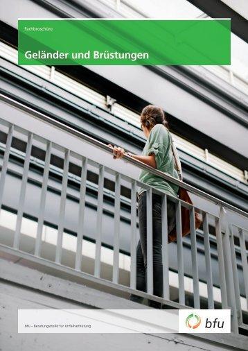 Geländer und Brüstungen - BfU