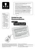 Gefahren der Kommunikation (pdf) - Museum für Kommunikation, Bern - Page 3