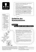 Gefahren der Kommunikation (pdf) - Museum für Kommunikation, Bern - Page 5