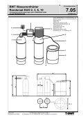 BWT Wasserenthärter Rondomat DUO 2, 3, 6, 10 - Seite 2