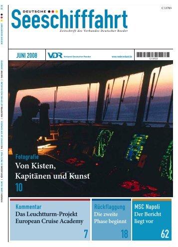 Von Kisten, Kapitänen und Kunst - DNV