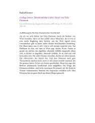 «Ledige Leute». Sittenkomödie in drei Akten von Felix Dörmann