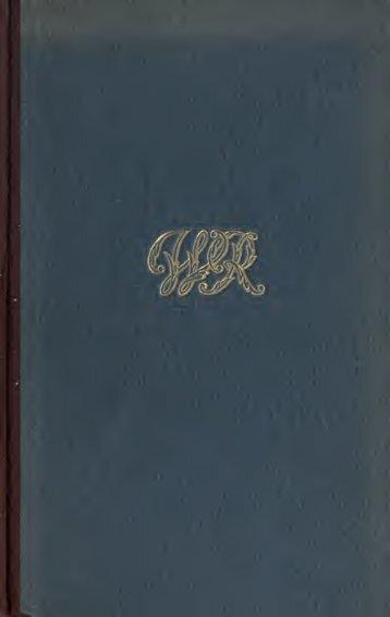 Gesammelte Schriften ..