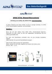 APAS VITAL Wasserfiltersysteme - Verlag Peter Irl