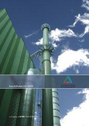 Geschäftsbericht 2005 - A-TEC INDUSTRIES AG