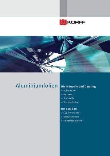 Firmenbroschüre als PDF - Korff AG