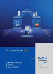 Geschäftsbericht 2012 ODR - EnBW ODR