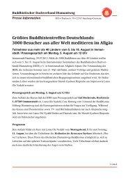Pressemeldung Sommerkurs 2013 (PDF) - Diamantweg.de