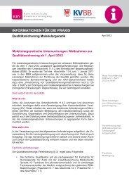 Praxisinformation