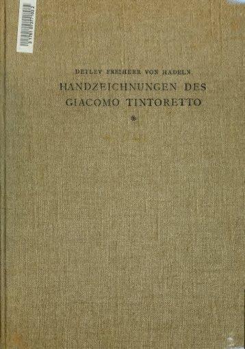 Zeichnungen des Giacomo Tintoretto