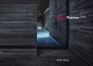 Informationen 2013|2014 - Therme Vals