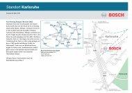 Standort Karlsruhe - Bosch Sicherheitssysteme GmbH