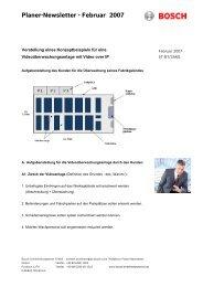 PDF-Datei - Bosch Sicherheitssysteme GmbH