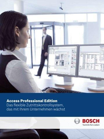 Bosch APE.pdf - SIS Security GmbH
