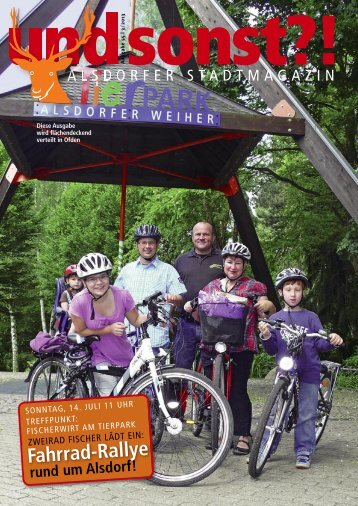 rund um Alsdorf! Fahrrad-Rallye - Alsdorfer Stadtmagazin