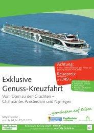 Genuss Kreuzfahrt 2013