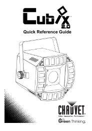 Cubix 2.0 Quick Reference Guide, Rev. 4, Multi ... - zZounds.com