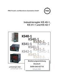 KS 40-1 - Vetter GmbH Mess
